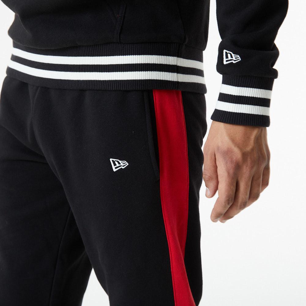 Pantalón de chándal Chicago Bulls Logo, negro
