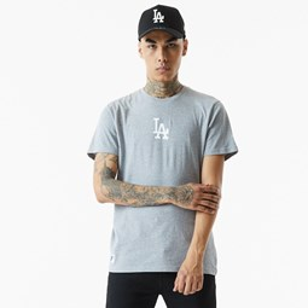 T-shirt Baseball des Dodgers de LA, gris