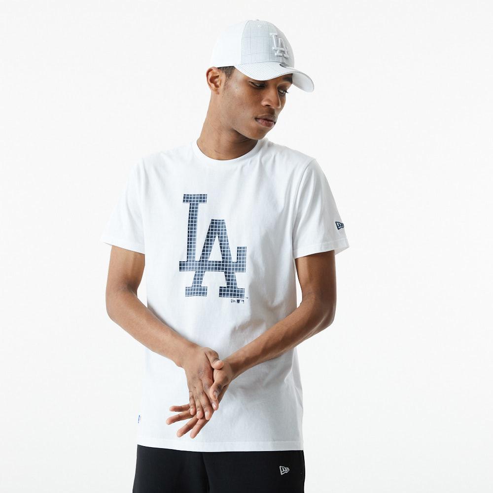 T-shirt LA Dodgers City Camo bianca