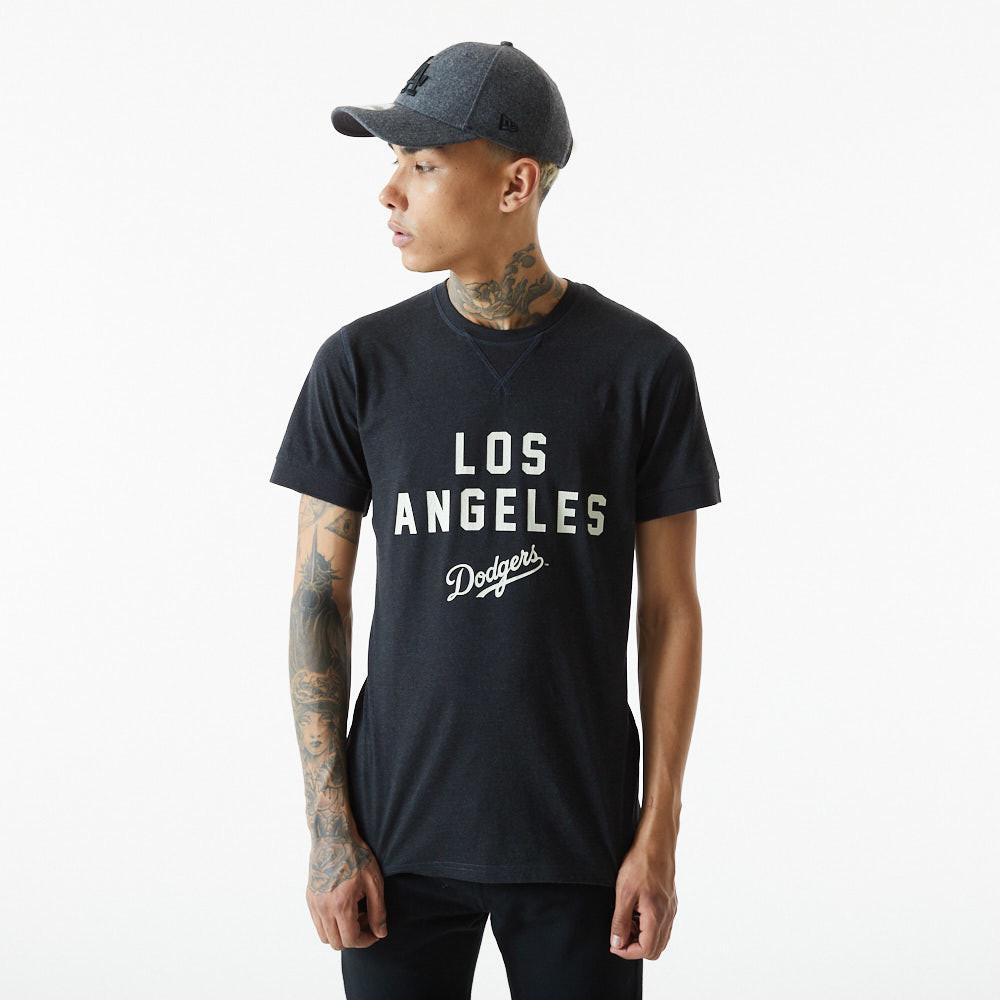 T-shirt MLB Heritage des Dodgers de LA, gris foncé