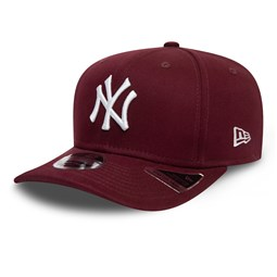 Gorra New York Yankees Color Essential Stretch Snap 9FIFTY, granate
