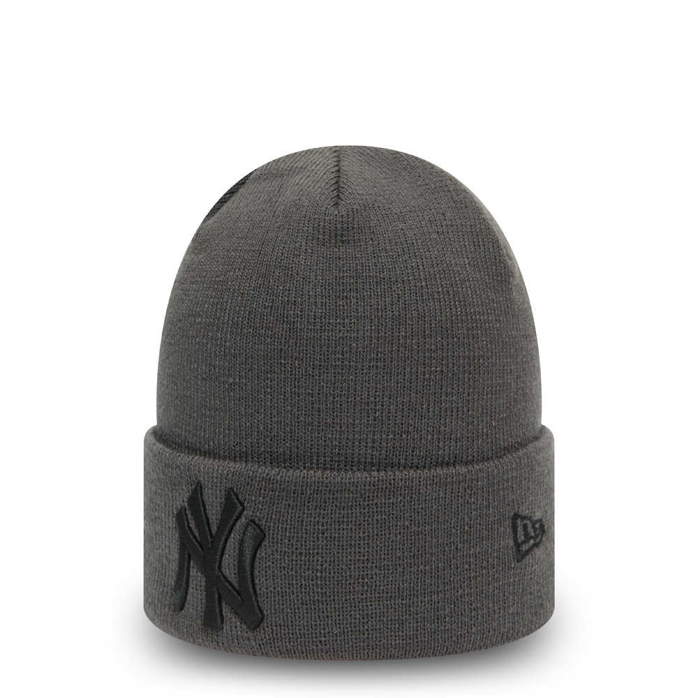 Berretto di maglia New York Yankees Colour Essential grigio scuro