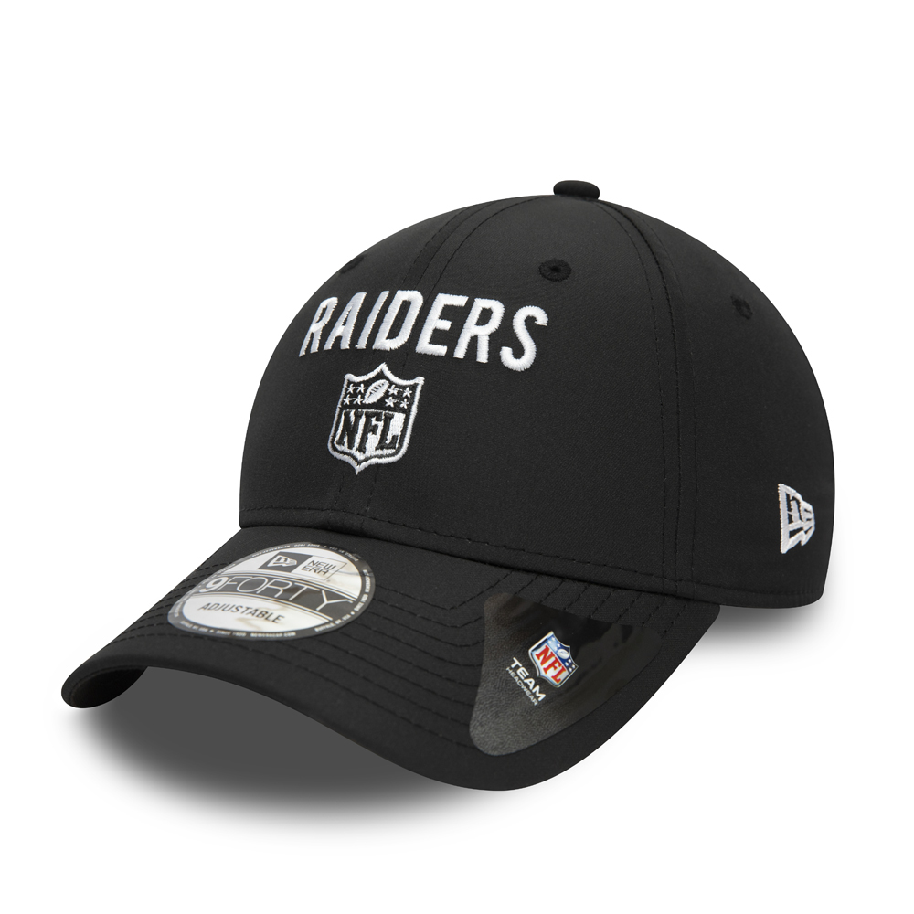 Gorra Las Vegas Raiders Team Flag 9FORTY, negro