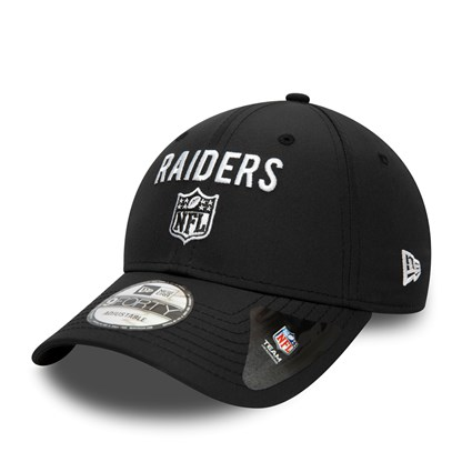 Las Vegas Raiders Team Flag Black 9FORTY Cap