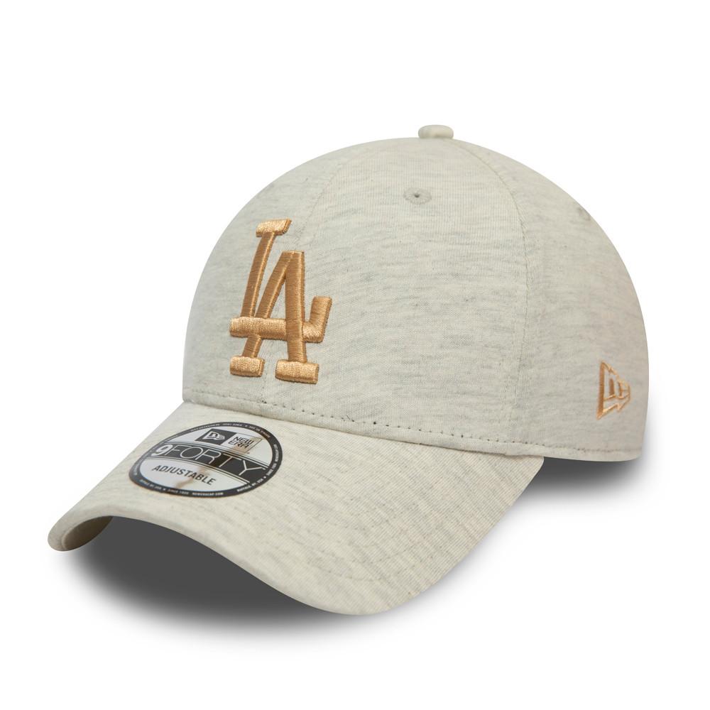 9FORTY – LA Dodgers – Jersey Essential – Kappe in Beige