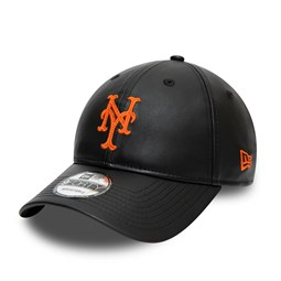 Cappellino New York Mets Synthetic Leather 9FORTY nero