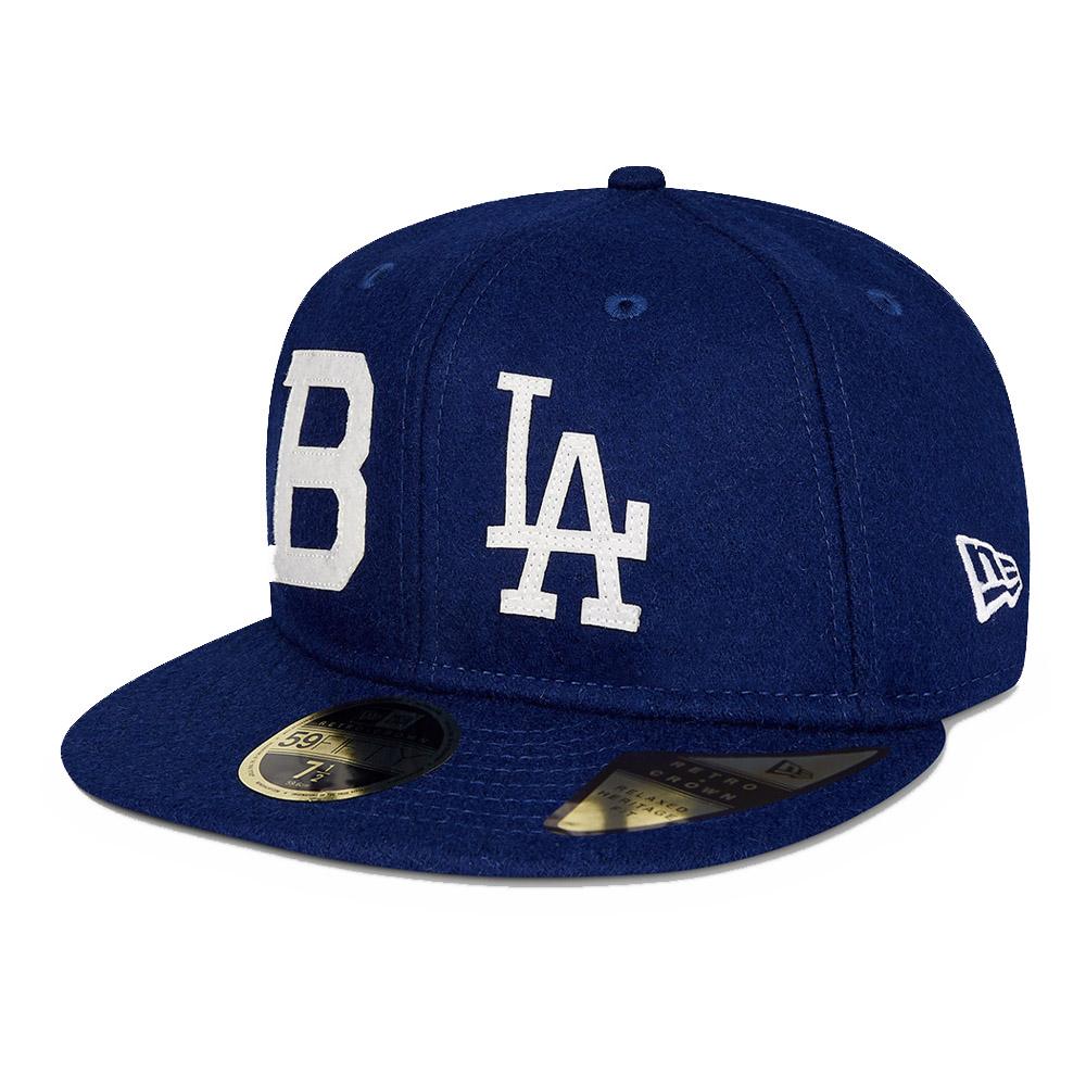 Cappellino 59FIFTY LA Dodgers History blu navy