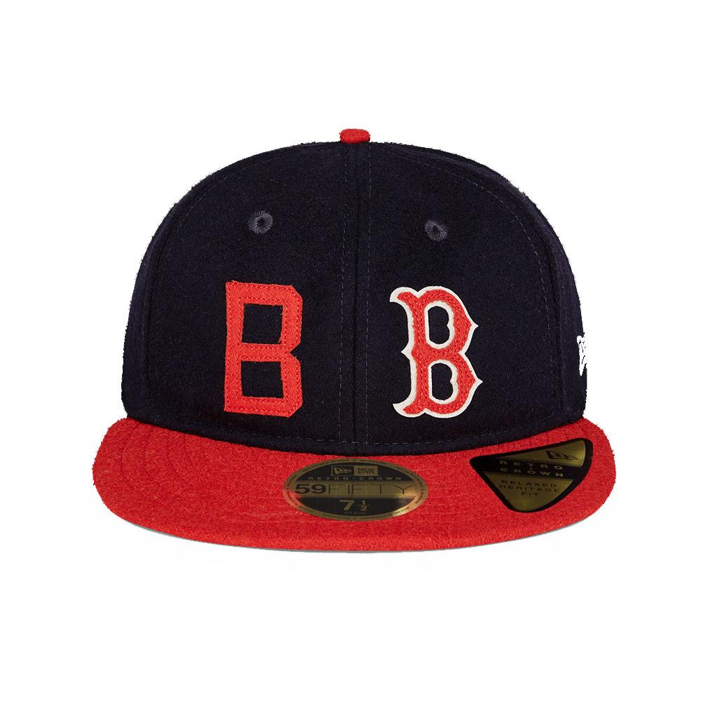 Cappellino Boston Redsox History 59FIFTY blu navy