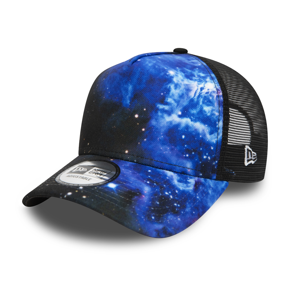 Trucker Galaxy Print A-Frame New Era