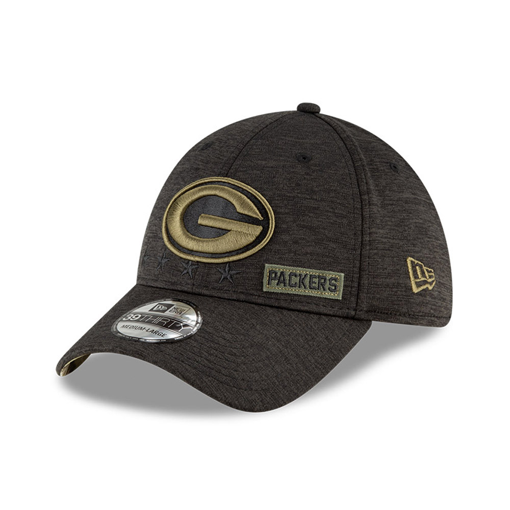 Casquette 39THIRTY  NFL Salute To Service des Green Bay Packers