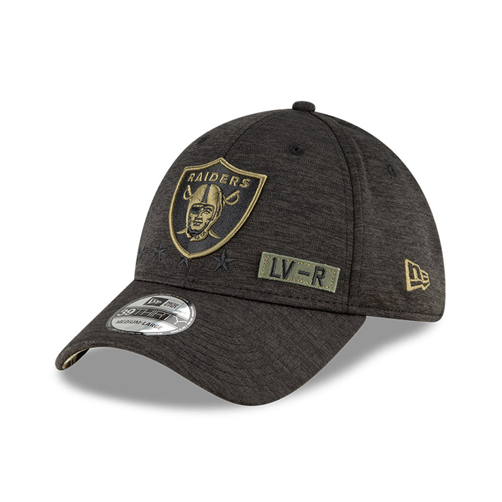 Casquette  39THIRTY  NFL Salute To Service des Las Vegas Raiders