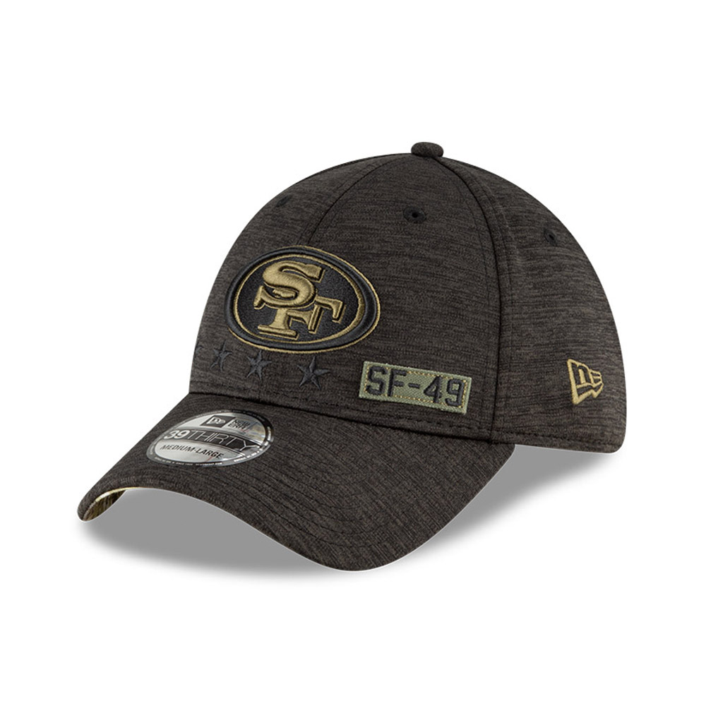 San Francisco 49ers NFL Salute To Service 39THIRTY Cap