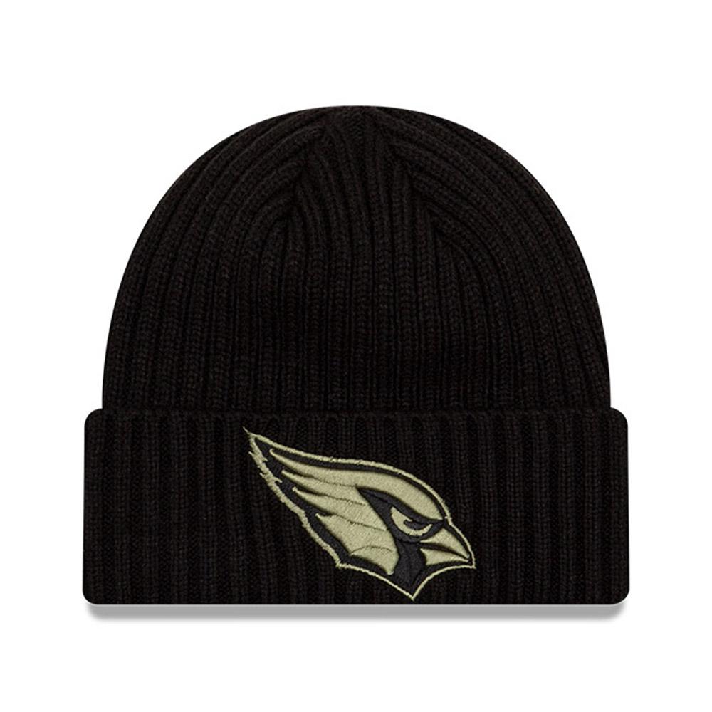 Bonnet NFL Salute To Service des Arizona Cardinals noir