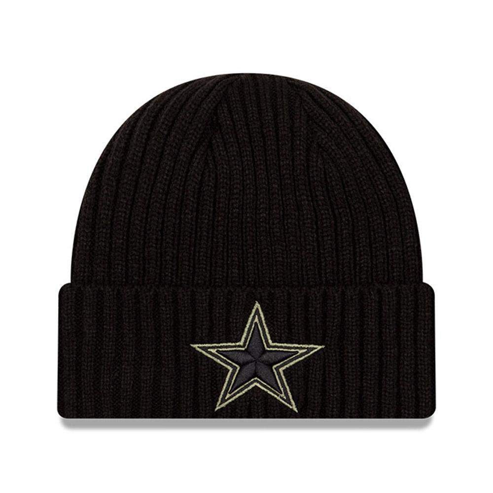 Bonnet NFL Salute To Service des Dallas Cowboys noir