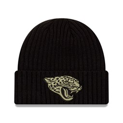Jacksonville Jaguars – NFL – Salute to Service – Beanie in Schwarz