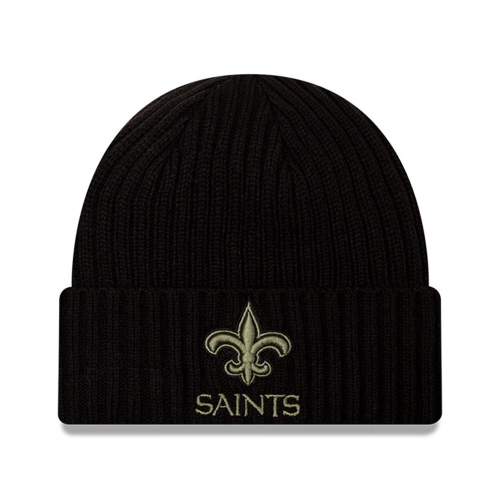 Bonnet NFL Salute To Service desNew Orleans Saints noir