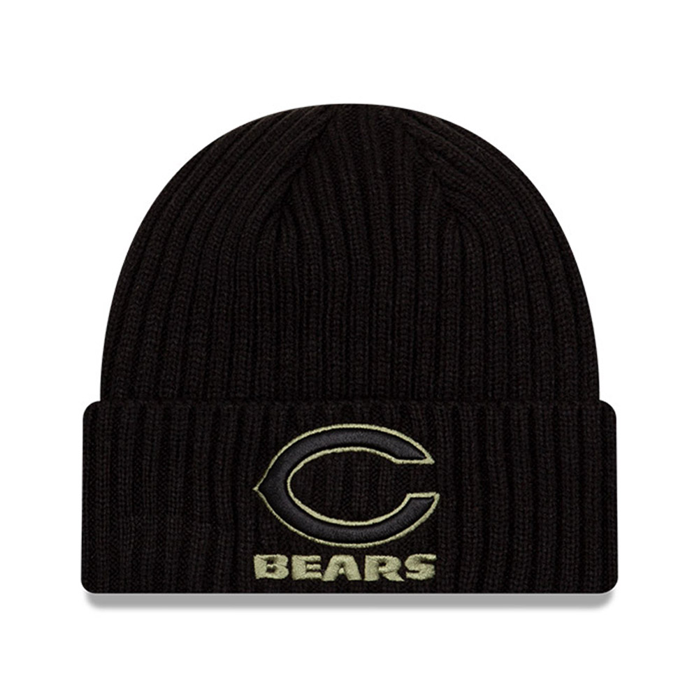 Chicago Bears NFL Salute To Service Black Knit