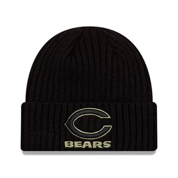 Chicago Bears – NFL – Salute to Service – Beanie in Schwarz