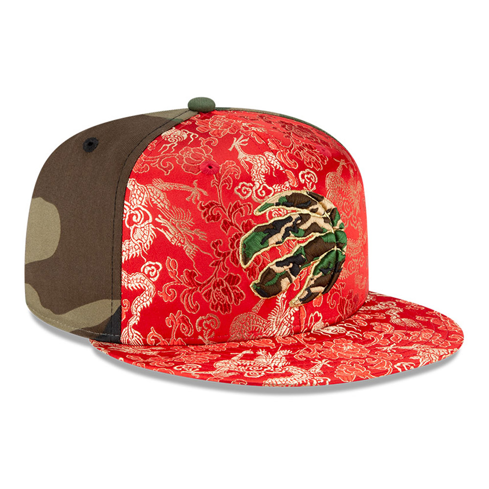 Casquette Dragon Camo 100Years 59FIFTY des Raptors de Toronto, vert