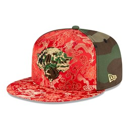 Gorra New York Knicks Dragon Camo 100 Years 59FIFTY