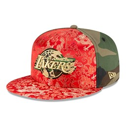 Gorra Los Angeles Lakers Dragon Camo 100 Years 59FIFTY