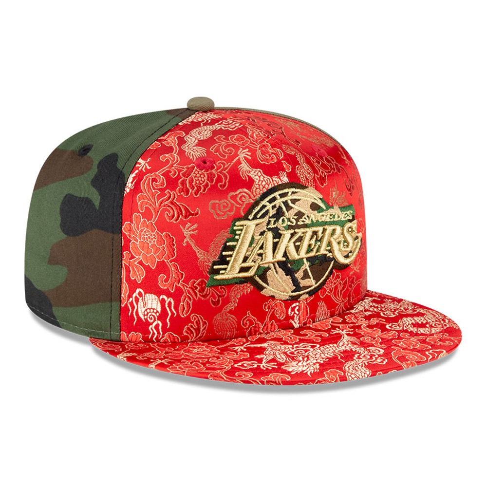 Cappellino Los Angeles Lakers Dragon Camo 100 Years 59FIFTY