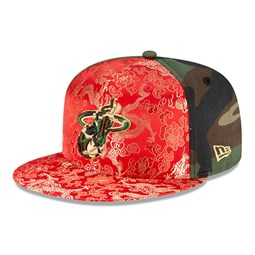 Gorra Miami Heat Dragon Camo 100 Years 59FIFTY