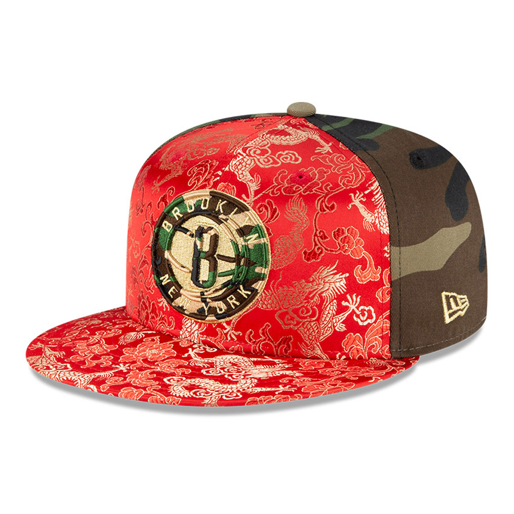 Casquette Dragon Camo 100Years 59FIFTY des Nets de Brooklyn
