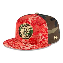 Cappellino Brooklyn Nets Dragon Camo 100 Years 59FIFTY