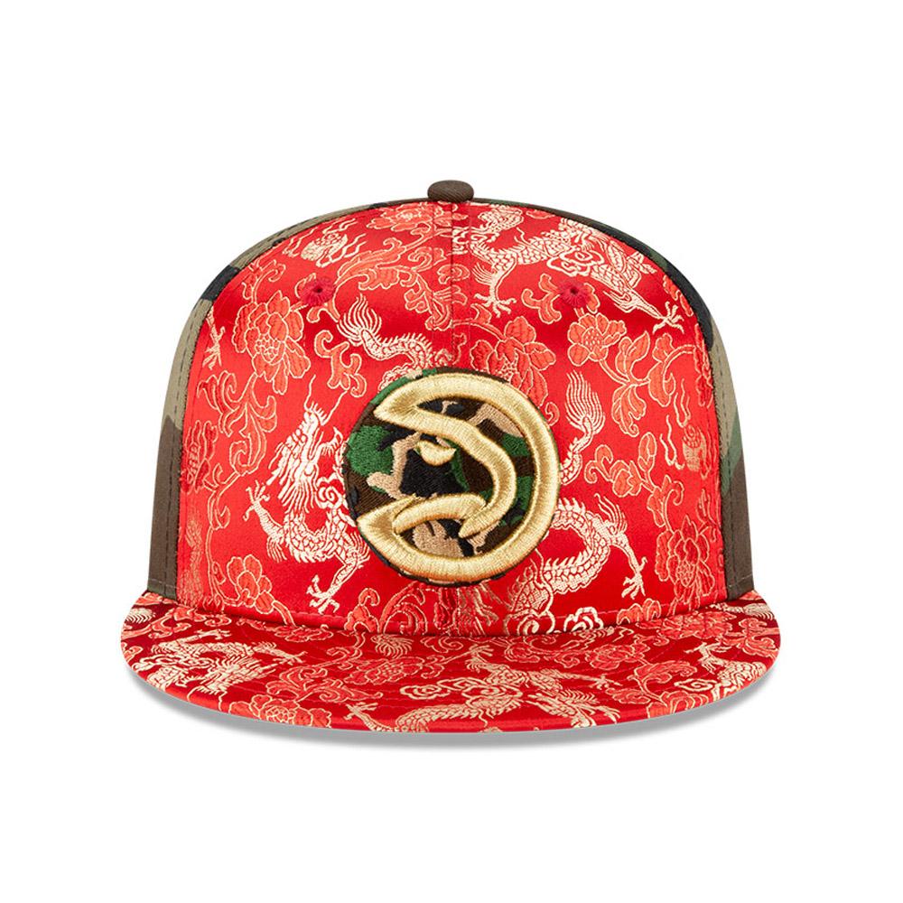 Gorra Atlanta Hawks Dragon Camo 100 Years 59FIFTY
