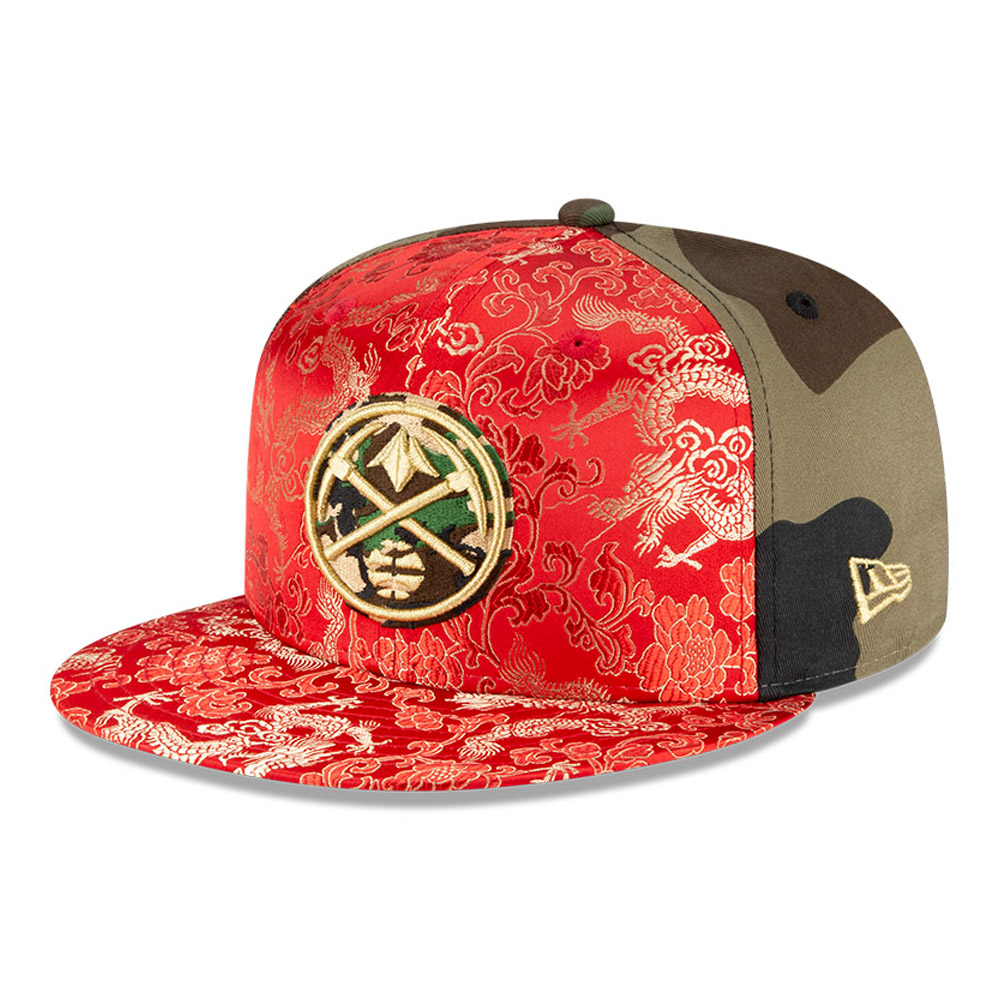 Casquette Dragon Camo 100 Years 59FIFTY des Nuggets de Denver
