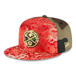 Cappellino Denver Nuggets Dragon Camo 100 Years 59FIFTY