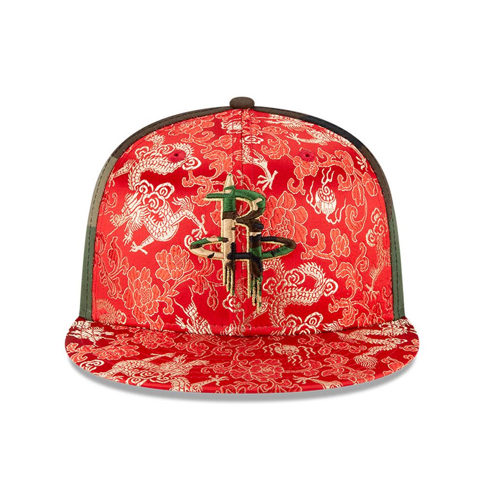 Cappellino Houston Rockets Dragon Camo 100 Years 59FIFTY