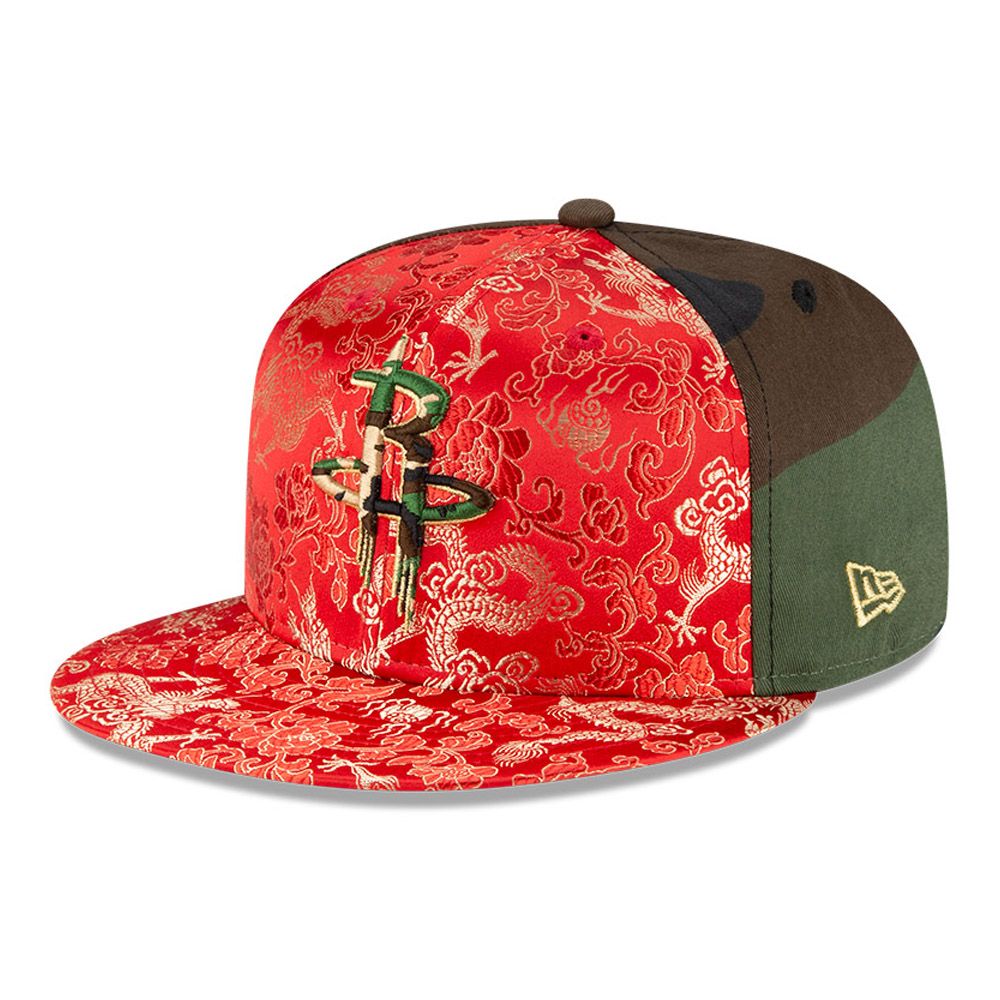 Cappellino Houston Rockets Dragon Camo 100 Years 59FIFTY