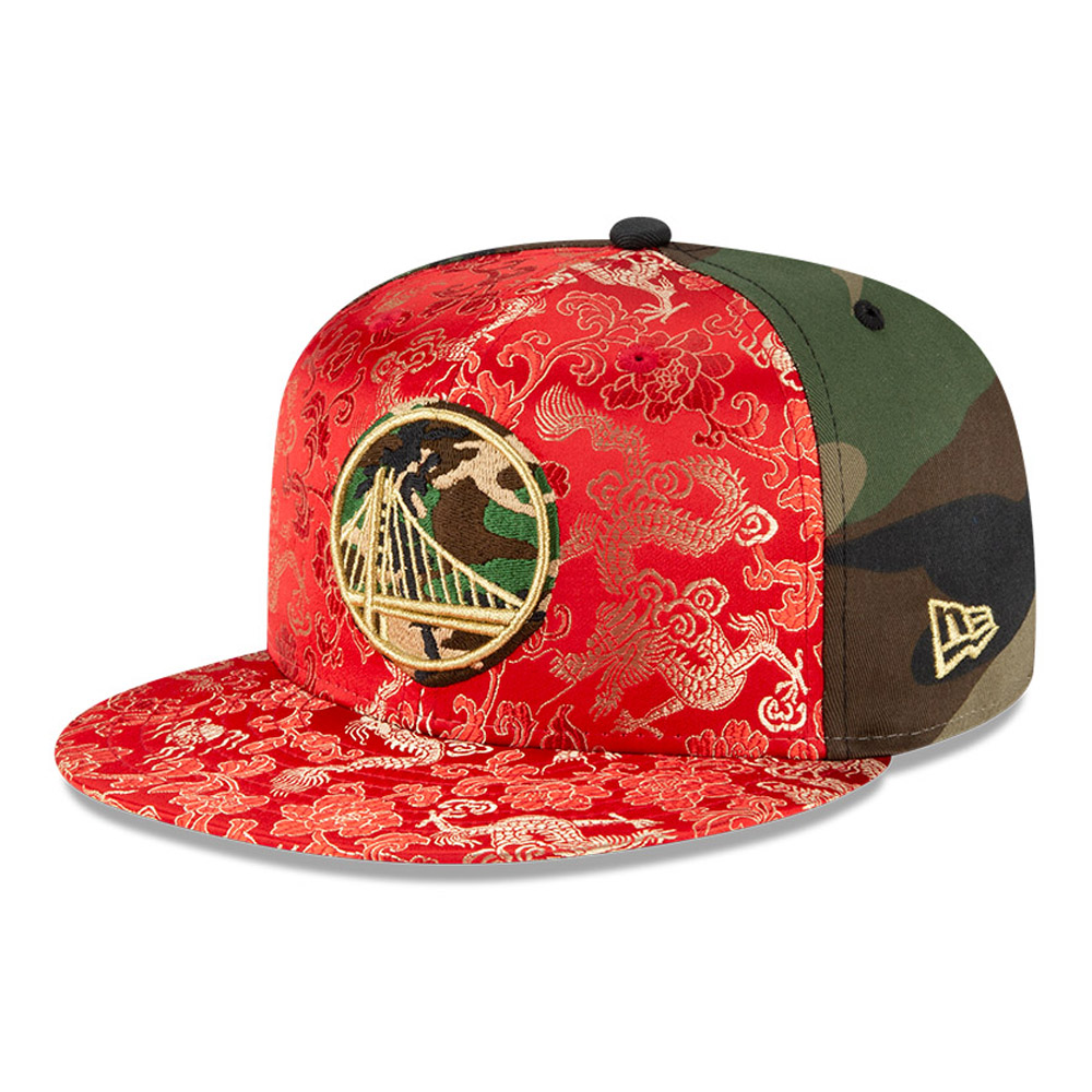 Casquette Dragon Camo 100 Years 59FIFTY des Warriors de Golden State