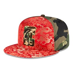 Gorra Los Angeles Clippers Dragon Camo 100 Years 59FIFTY