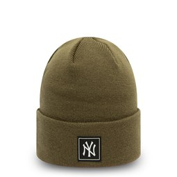 New York Yankees Printed Patch Green Knit