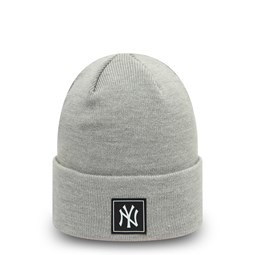 New York Yankees Printed Patch Grey Knit