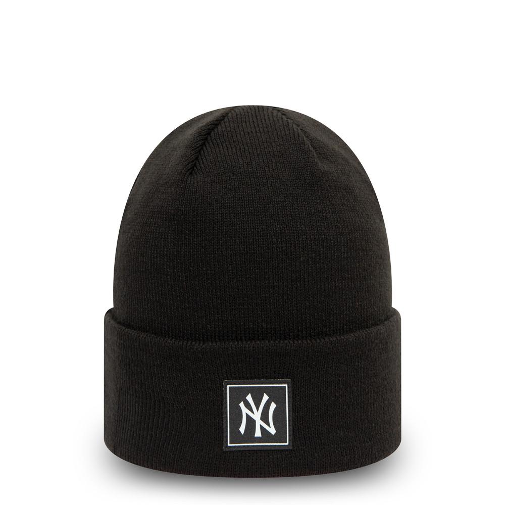 Bonnet New York Yankees Printed Patch noir