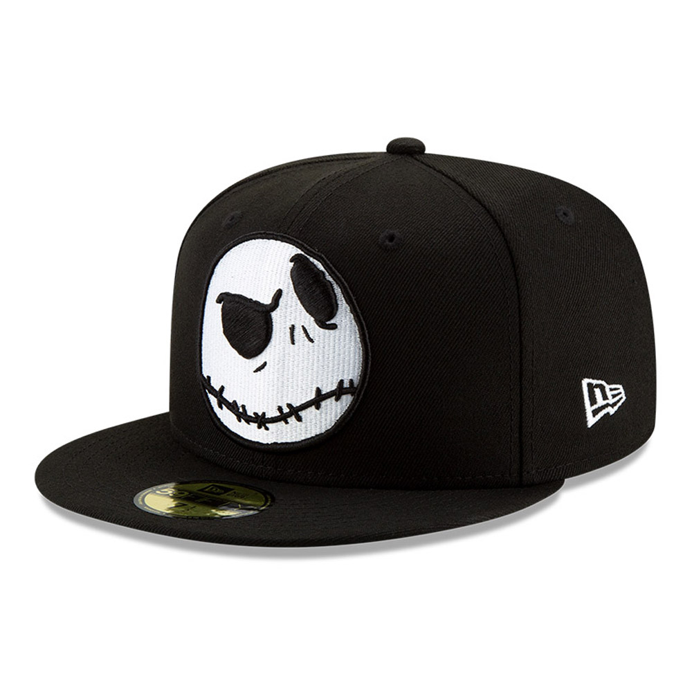 Gorra Jack Skellington Disney 59FIFTY, negro