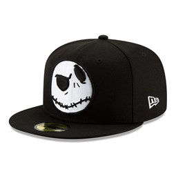 Cappellino 59FIFTY Jack Skellington Disney nero