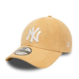 New York Yankees Suede Logo Beige 39THIRTY Cap