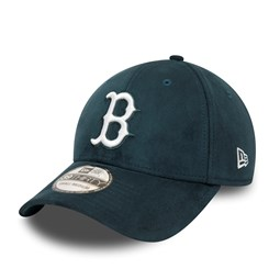 Gorra Boston Red Sox Suede 39THIRTY, verde azulado