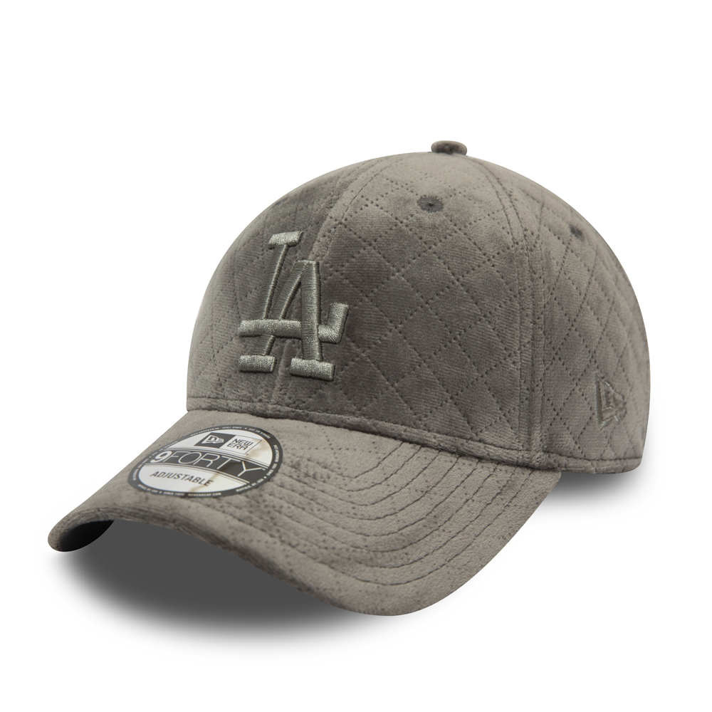 Casquette Los Angeles Dodgers Quilted 9FORTY Gris