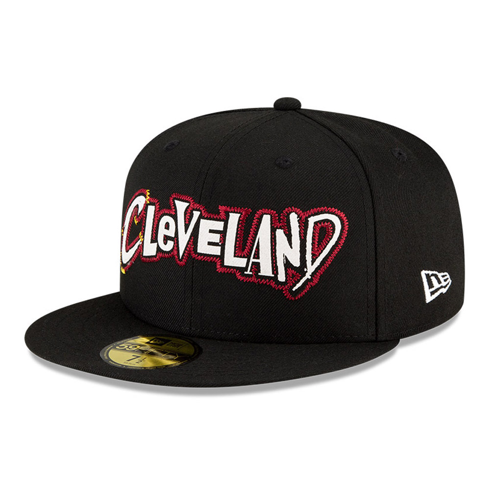 Cappellino 59FIFTY NBA City Edition Cleveland Cavaliers nero