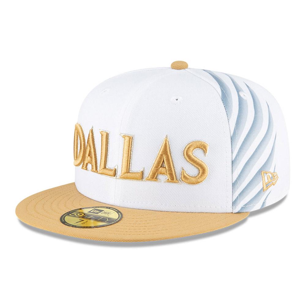 Cappellino 59FIFTY NBA City Edition Dallas Mavericks bianco