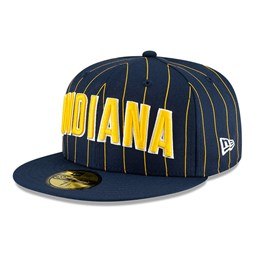 Indiana Pacers NBA City Edition Navy 59FIFTY Cap