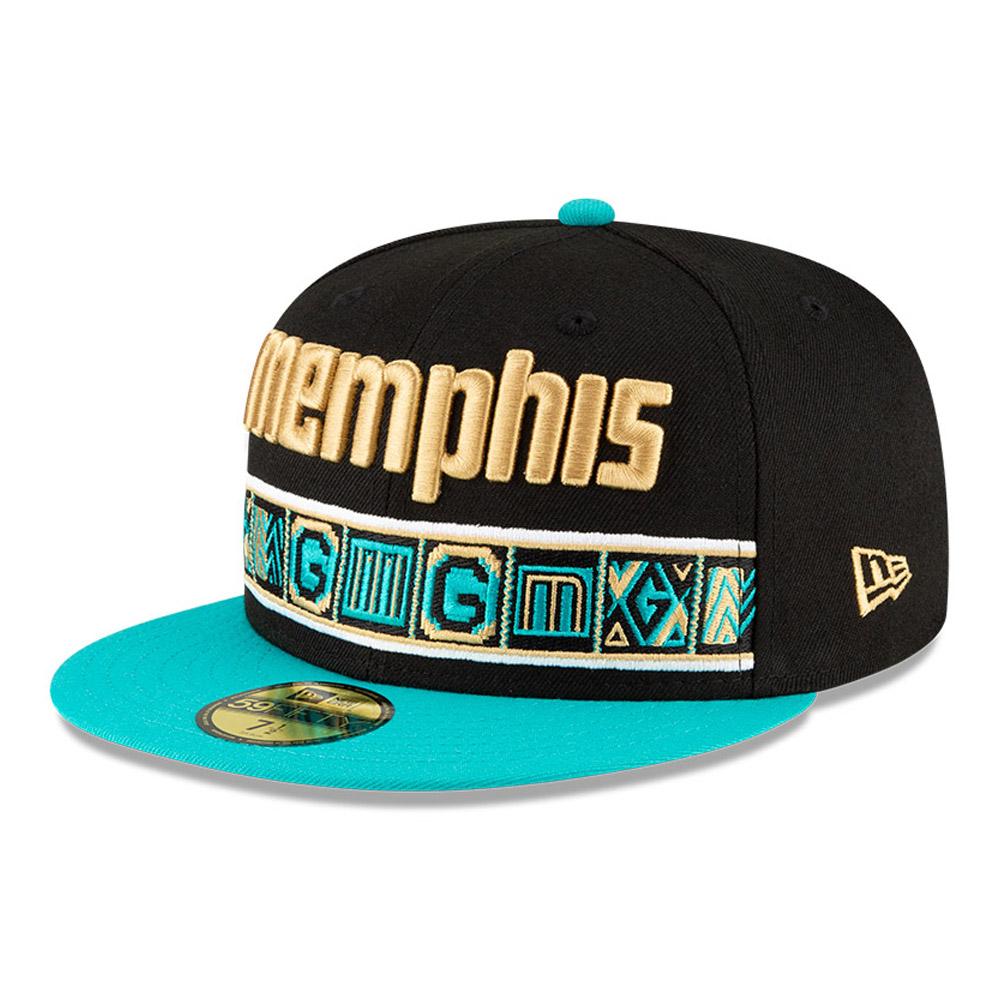 Casquette noire 59FIFTY NBA City Edition des Memphis Grizzlies