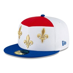 New Orleans Pelicans City Edition White 59FIFTY Cap