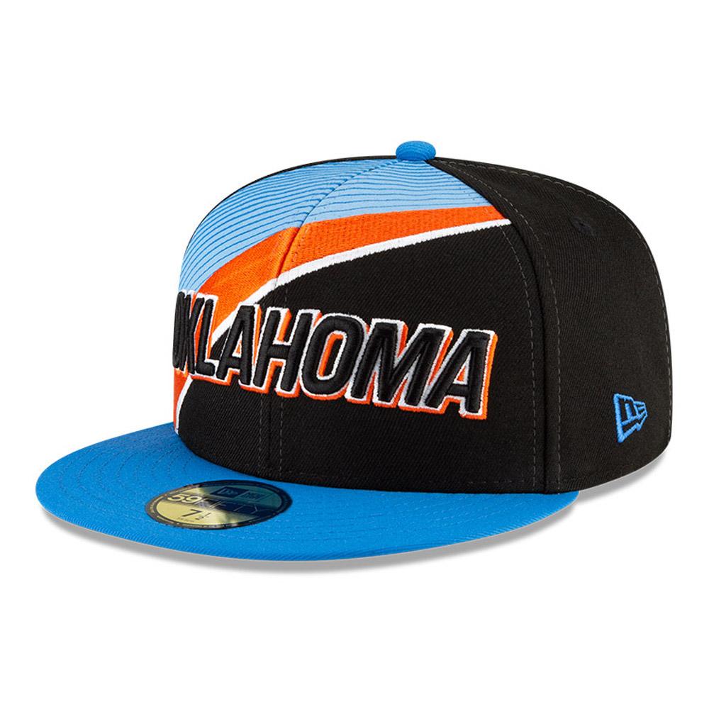 Oklahoma City Thunder NBA City Edition Black 59FIFTY Cap